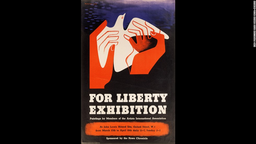 For Liberty Exhibition poster, 1981