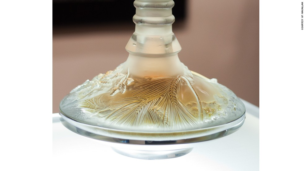 Macallan is renowned for producing some of the most expensive whiskeys ever sold at auction. The Macallan 64 year old in a Lalique Cire Perdue, pictured, was a particularly successful sale.