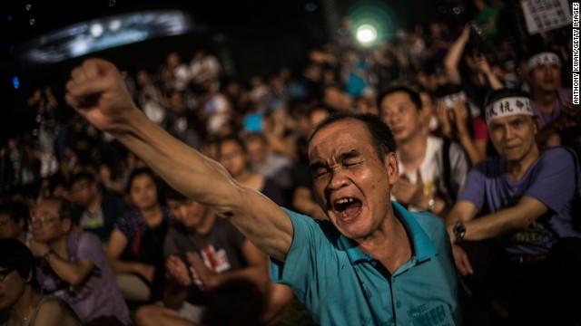 HK democracy 'is nearly dead'