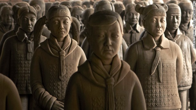Terracotta Daughters, Xi'an, China, 2013.