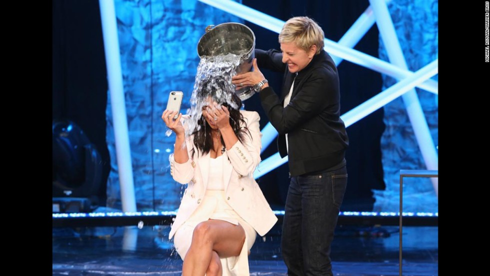 "The <a href=""http://www.cnn.com/2014/08/13/tech/ice-bucket-challenge/"">ALS Ice Bucket Challenge</a>, in which people dumped a bucket of ice on their heads to raise money for Lou Gehrig's disease, was a viral hit in 2014."