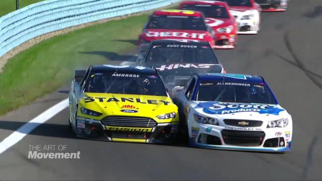 NASCAR's super-fast pit stops