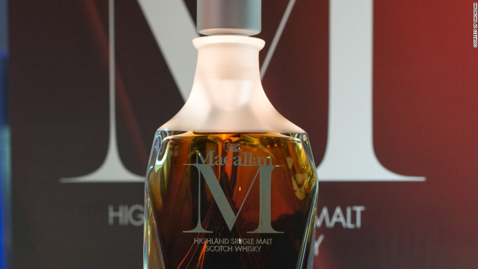 "The Macallan 6-liter ""M"" Decanter by Lalique sold for a record  $631,850 earlier this year at a Sotheby's auction in Hong Kong, making it the most expensive bottle of single malt whisky sold at an auction."