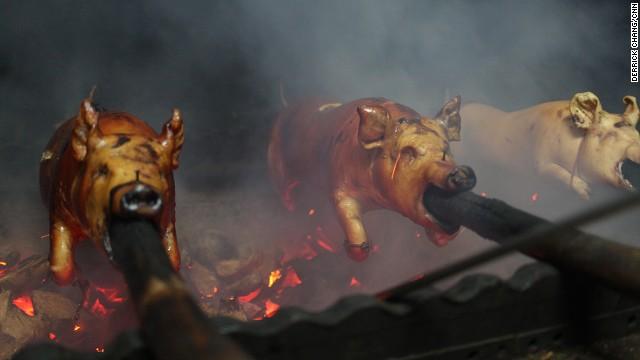 Bali's babi guling may be the island's most iconic dish.