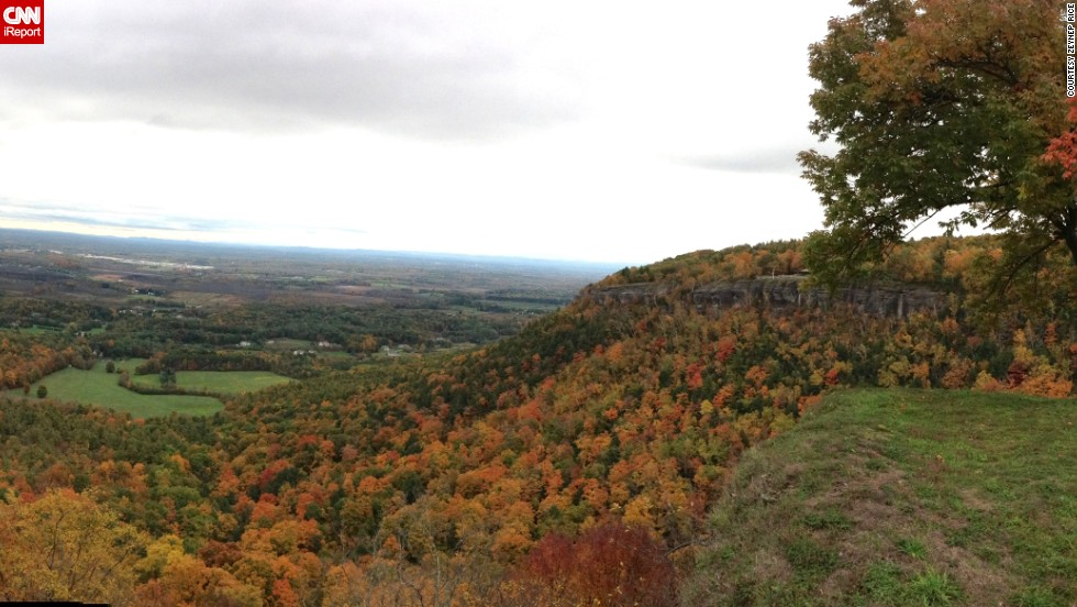 "<a href=""http://ireport.cnn.com/docs/DOC-856008"">Zeynep Rice</a> shot these photos in 2012 at the John Boyd Thacher State Park in Voorheesville, New York, near where he lives and works. ""I love this park because of its beautiful views of Albany area and beautiful fall colors,"" he said."
