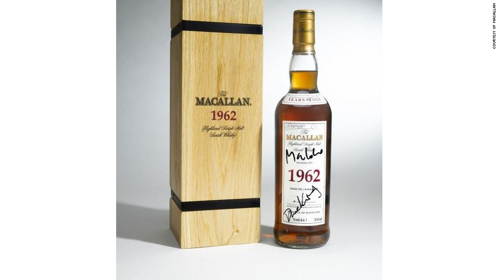 Macallan has also made a stamp in popular culture, with the 50 year-old Macallan featured in the James Bond film Skyfall. The rare  edition, pictured, was signed by the 007 actor, Daniel Craig.