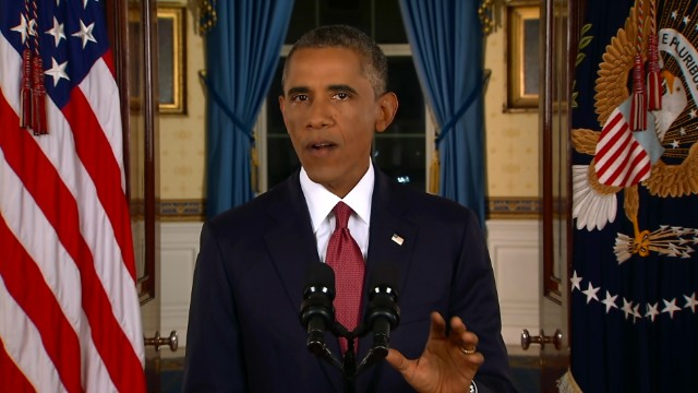 Obama's speech on stopping ISIS (Part 1)