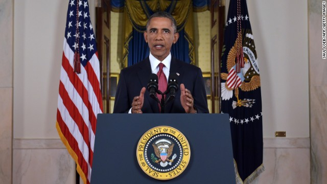 Full speech: Obama's plan to stop ISIS
