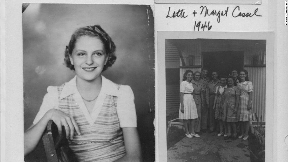 Lotte Cassel (now known as Hershfield) took this photo as a teenager in 1946 after surviving both the Nazis in Germany and the Japanese occupation of the Philippines.