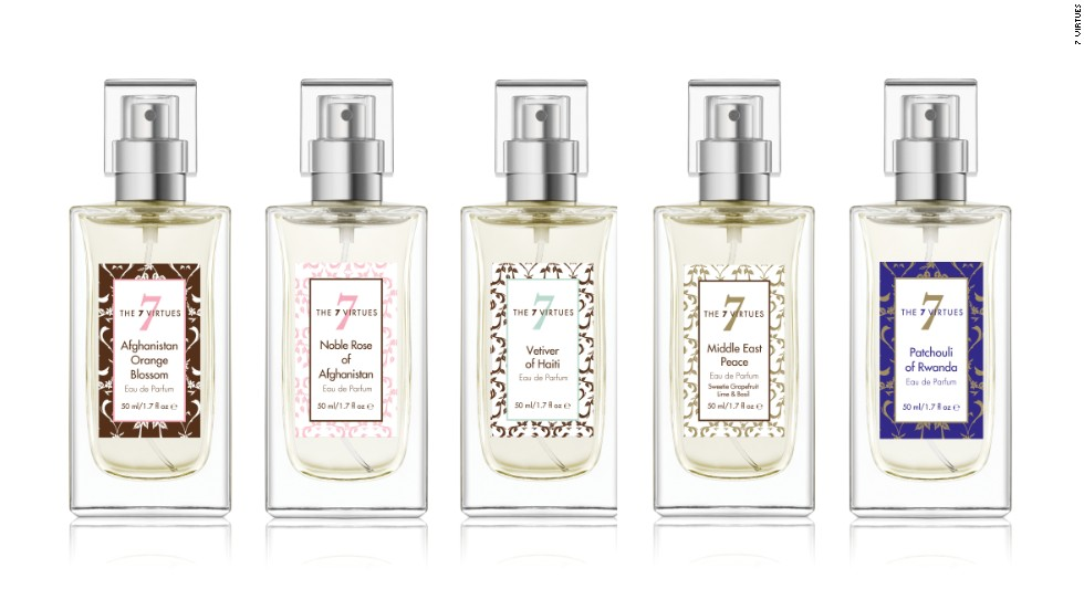 A selection of the company's scents to date.