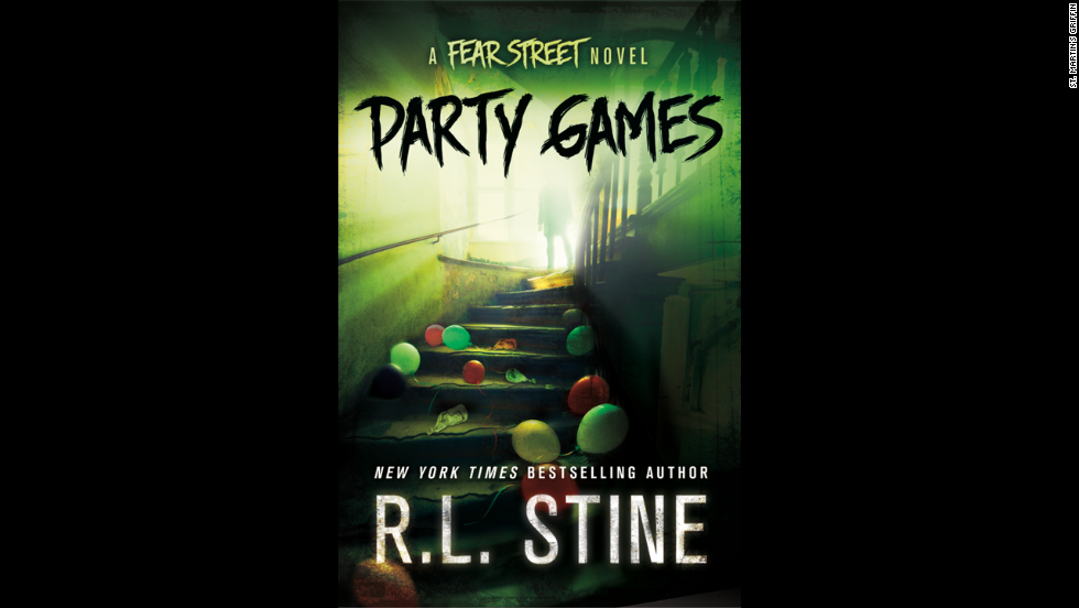 rl stine adult books