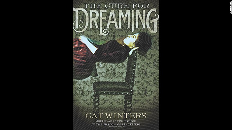 "In ""The Cure for Dreaming,"" Cat Winters returns to the Gothic flavor of her Morris Award finalist novel ""In the Shadow of Blackbirds."" Olivia Mead is a suffragist in 1900, and her father decides to have the independence hypnotized out of her. Instead, she acquires the ability to see the true nature of people without being able to speak of it. Kirkus Reviews calls it a ""gripping, atmospheric story of mind control and self-determination."""