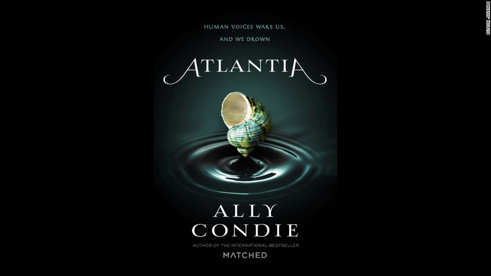 "Ally Condie, known for her popular ""Matched"" trilogy, goes underwater for ""Atlantia."" Siren Rio wants to explore life beyond her underwater city, but when her sister, Bay, is snatched away from her, Rio has to embrace who she is and learn more about the strange city where she lives. The story leads up to ""an unexpected finale that brings in bewildering new elements,"" according to Publisher's Weekly."