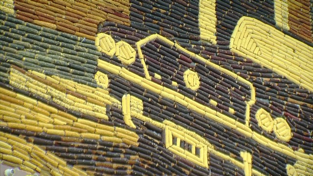 The Corn Palace in Mitchell South Dakota is an iconic building famous for its murals made of corn.           _00020418.jpg
