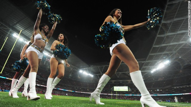 The NFL cheerleaders are set to star at Tottenham's new stadium.