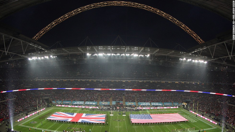 Wembley is hosting the NFL International Series for the eighth consecutive year, and for the first time the home of English soccer will stage three games.