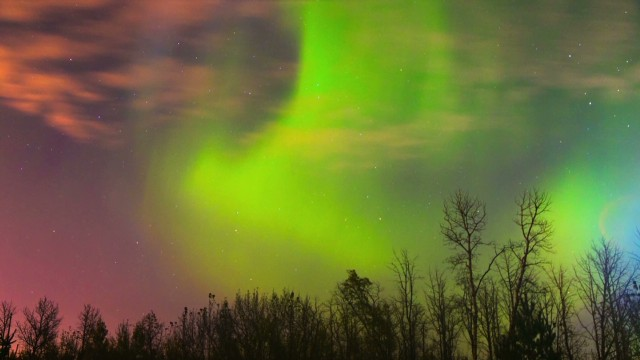 Aurora borealis: Breathtaking views