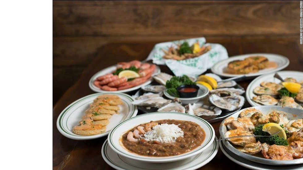 "<a href=""http://www.originaloysterhouse.com/"" target=""_blank""><strong>The Original Oyster House<strong></a></strong>: Mobile, Alabama</strong>"