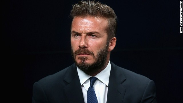 David Beckham attends the launch the 'United for Wildlife' Campaign at Google Town Hall on June 9, 2014 in London, England.