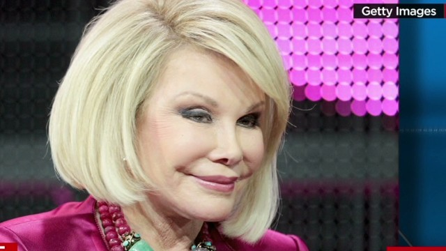 Joan Rivers' doctor allegedly took a selfie
