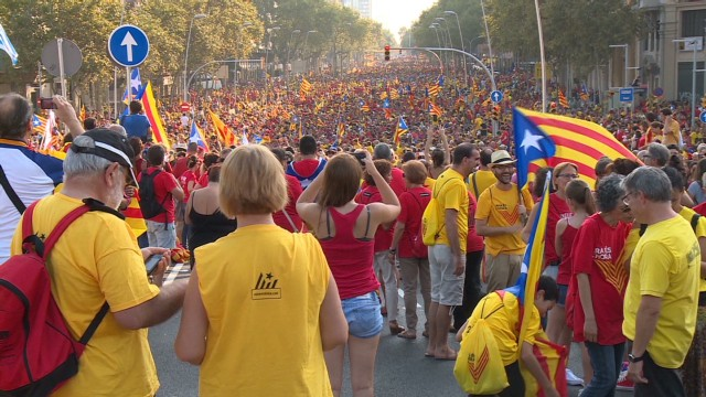Catalonia's push for independence vote