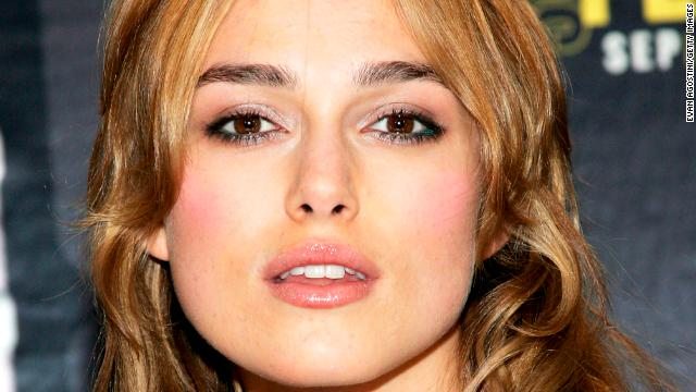 Keira Knightley knows how to speak down to us just the way we like being spoken down to.