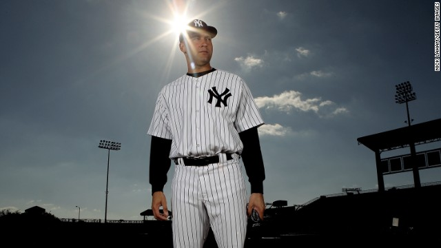 Derek Jeter #2 of the New York Yankees poses for a photo during Spring Training Media Photo Day at George M. Steinbrenner Field on February 25, 2010 in Tampa, Florida.