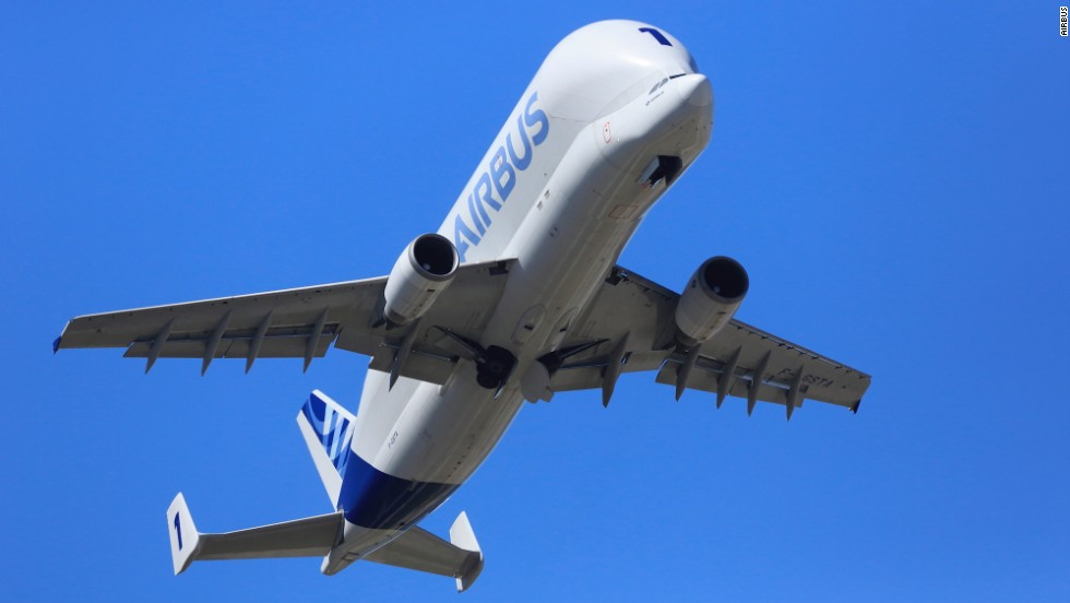 The Beluga, which took its maiden flight on September 13, 1994, has been transporting  Airbus component parts between the company's European manufacturing sites for the last 20 years.