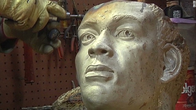 Statue honors wrongfully accused man
