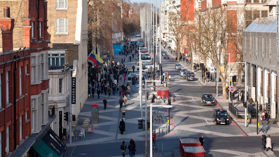 Shared space where the streets have no rules for Shared space design
