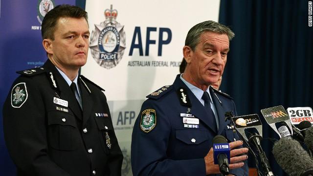Australia conducts anti-terror raids