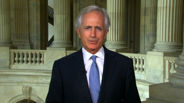 Corker: I don't think Trump will 'tear up' Iran deal
