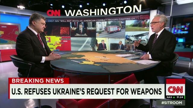 tsr wolf blitzer poroshenko ukraine president intv_00004801.jpg