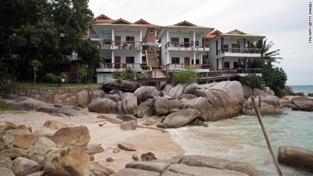 The Ocean View Bungalows hotel where Witheridge and Miller were murdered is seen on Wednesday, September 17.