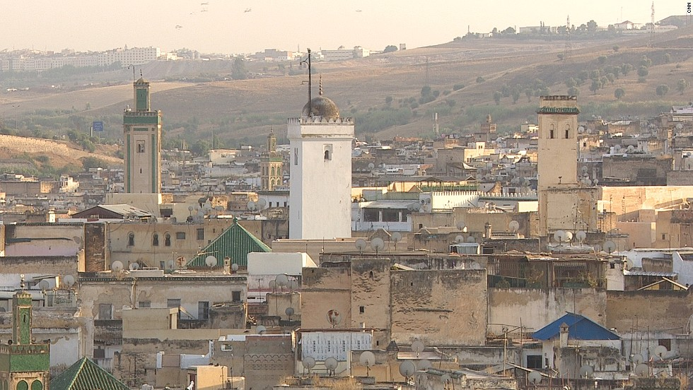 The oldest section of Fes is the walled settlement of Fes El Bali. The city was once the capital of Morocco, which is the third most prosperous African nation.