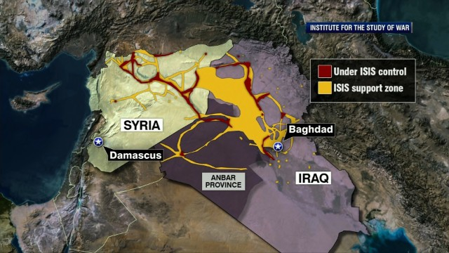 Military: U.S. ready to strike ISIS in Syria