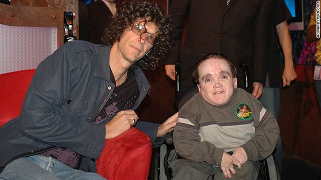 "Howard Stern and frequent caller Eric ""The Actor"" Lynch."