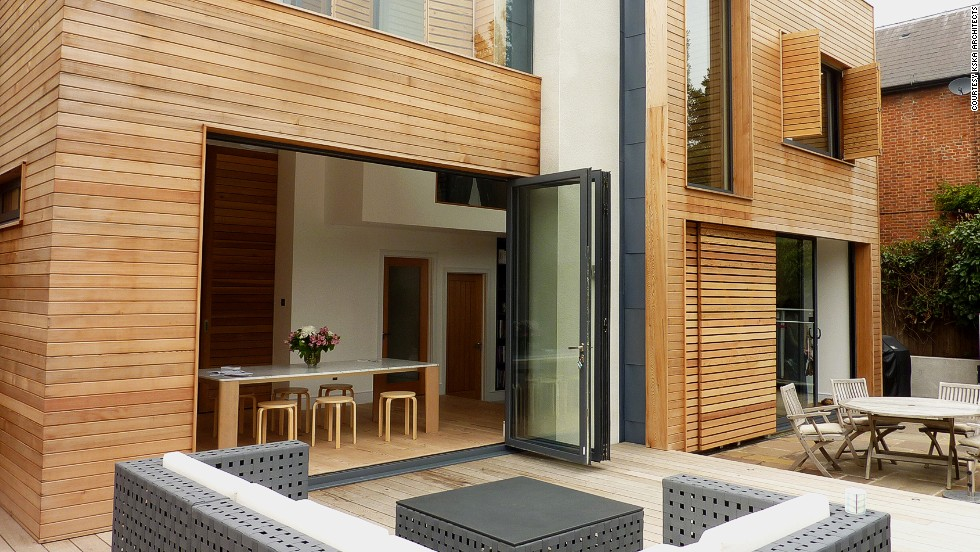 "Magic Box, designed by Matt Keeler of <a href=""http://www.kska.co.uk/"" target=""_blank"">KSKa Architects</a>, represents the homeowners' desire for a contemporary home with a Scandinavian feel."