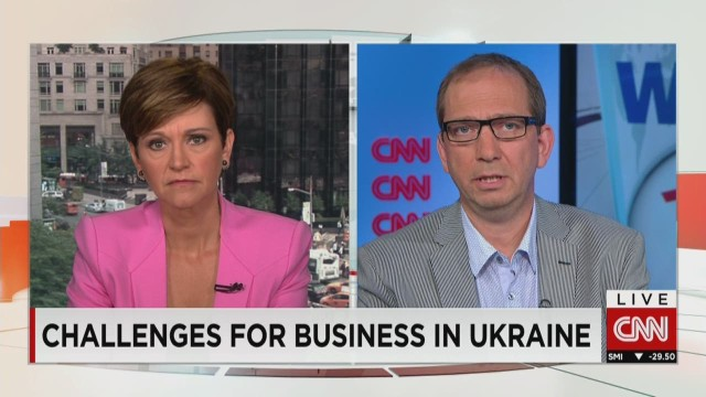 Crisis challenges business in Ukraine