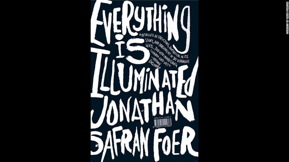 "<strong>The one that made us love scrawl: Everything Is Illuminated, 2003</strong><br />Bold, hand-drawn lettering has become a staple of modern book design in recent years. ""There's no better example than Jon Gray's 2003 Jonathan Safran Foer cover,"" says Pearson. ""His work has a raw, unpolished quality which makes the letters practically burst out of the cover. Gray has many imitators, but none seem to match the energy of his work.""<br />"