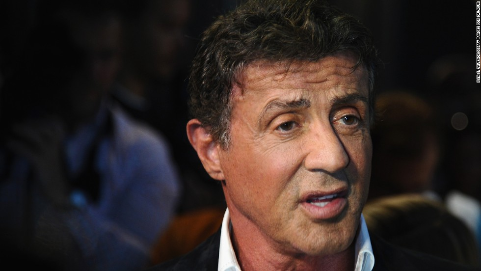 Sylvester Stallone was sued by Los Angeles Dodgers announcer Vin Scully for flood damage after a landscaping mishap and later by other neighbors complaining about the height of his security fence. Scully reportedly received an award for his damages, and Stallone was allowed to keep his wall thanks to zoning officials.