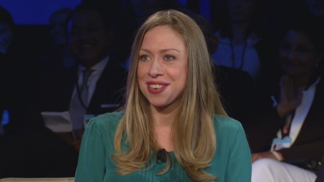 Chelsea Clinton on her baby's gender