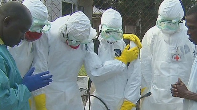 This team picks up Ebola's dead