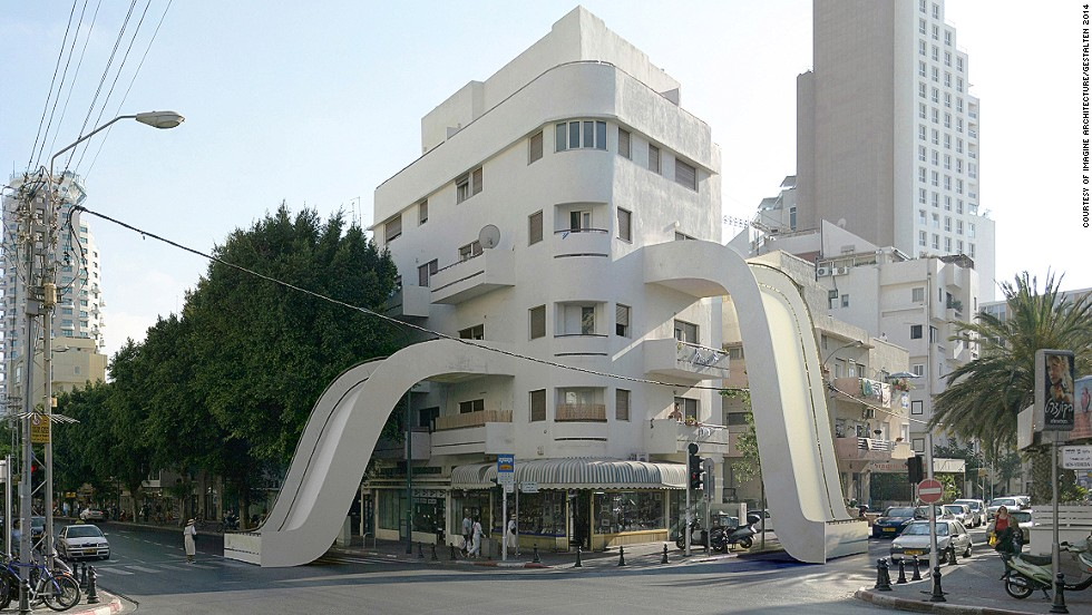 Bendy Towers And Upturned Houses The Surreal Architecture You