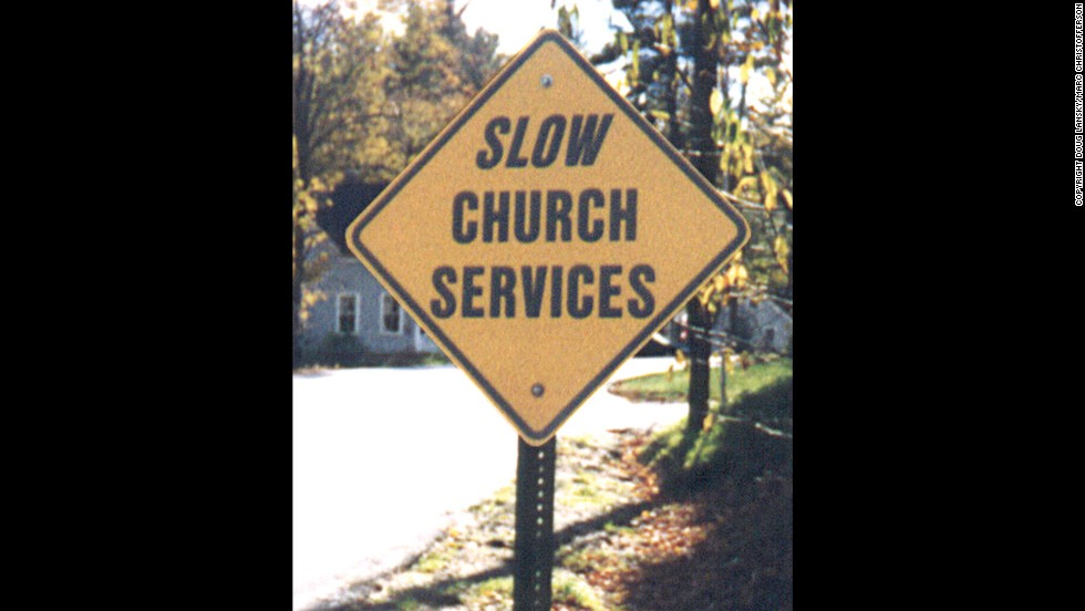 Leave some extra time for services at this Vermont church: You're going to be there awhile.