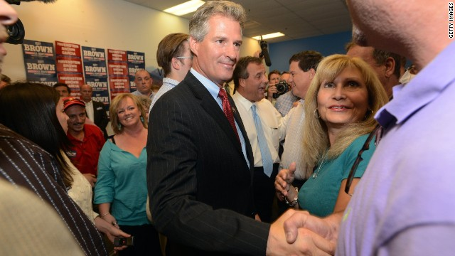 Scott Brown hits Shaheen, Obama on ISIS
