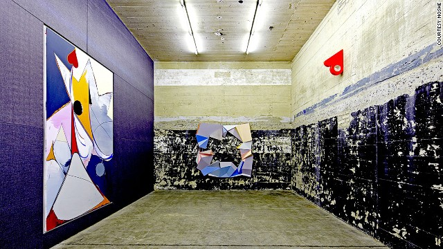 Underground art: Sammlung Boros is house in a World War II bunker.