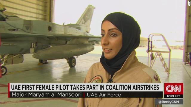Maj. Mariam Al Mansouri