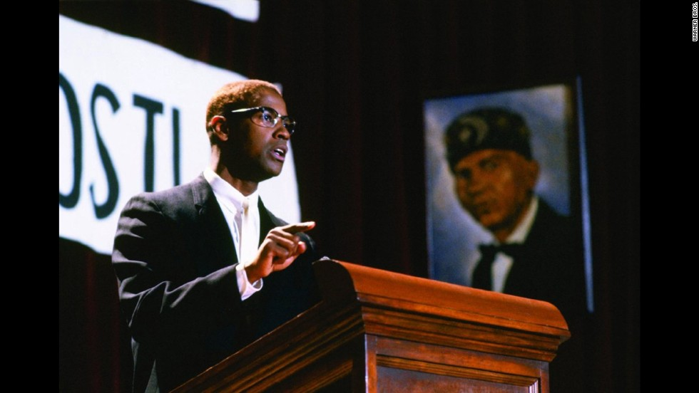 "<strong>""Malcolm X"" (1992)</strong>: Get into a conversation about Academy Award injustices, and Washington's portrayal of iconic historical figure Malcolm X is sure to come up. The actor filled the role with passion but delicate nuance, leading to his third Oscar nomination and first in the lead actor category."