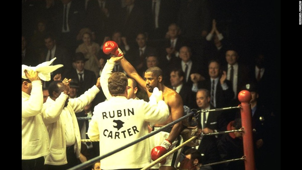 "<strong>""The Hurricane"" (1999)</strong>: When you need an actor who can fully inhabit a legend and bring to light that figure's humanity, you turn to Washington. The actor's star turn as boxer Rubin ""Hurricane"" Carter won him a fourth Oscar nod."
